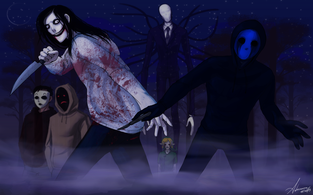 Creepypasta Wallpaper 2 by SUCHanARTIST13 1024x640