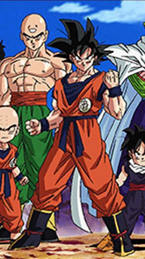 Dragon Ball Z Live Wallpaper for android Dragon Ball Z Live Wallpaper 288x512
