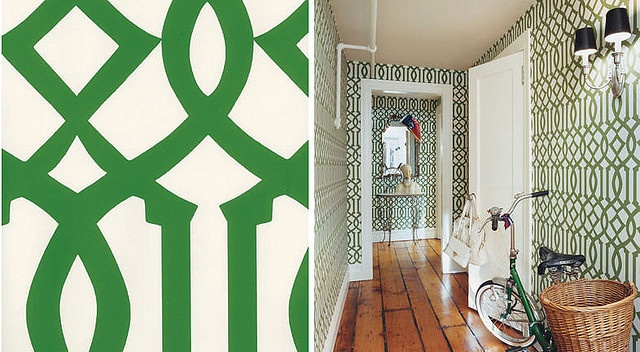 Trellis Wallpaper 640x352