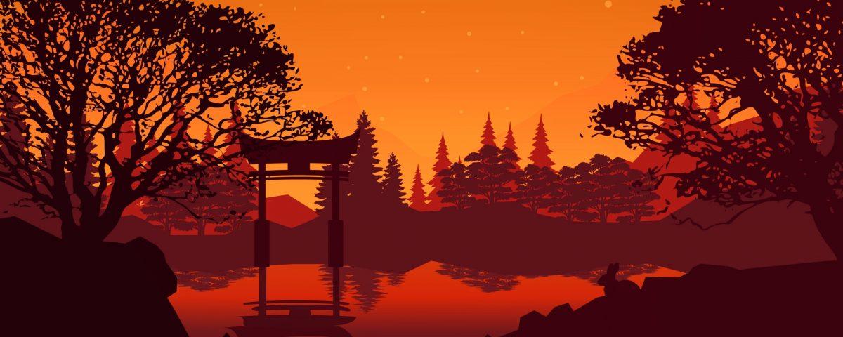 Torii gate miyajima wallpaper   HD Wallpapers Stores 1200x480
