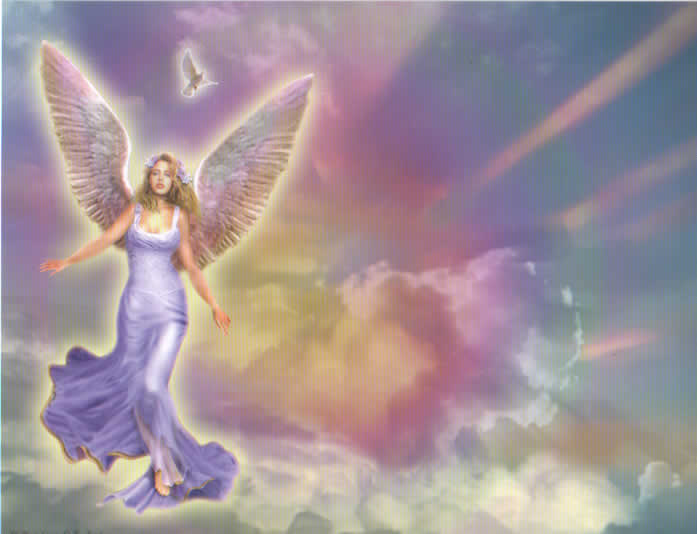 Angel Background Picture 697x534