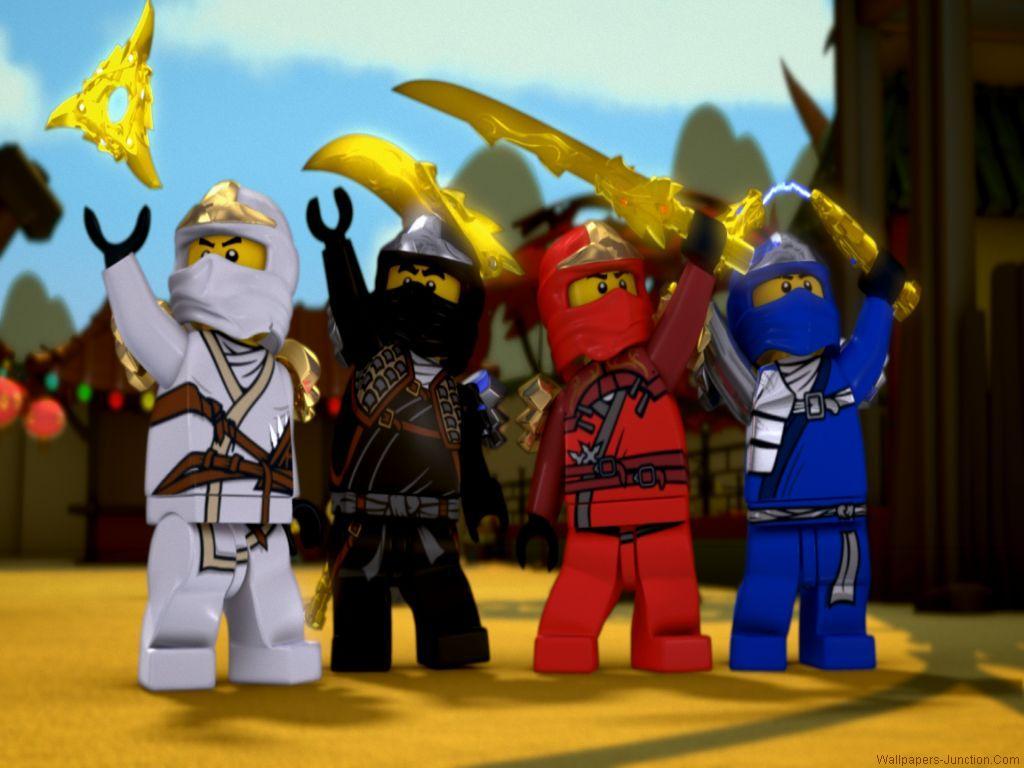 Group Of Lego Ninjago Desktop Wallpaper