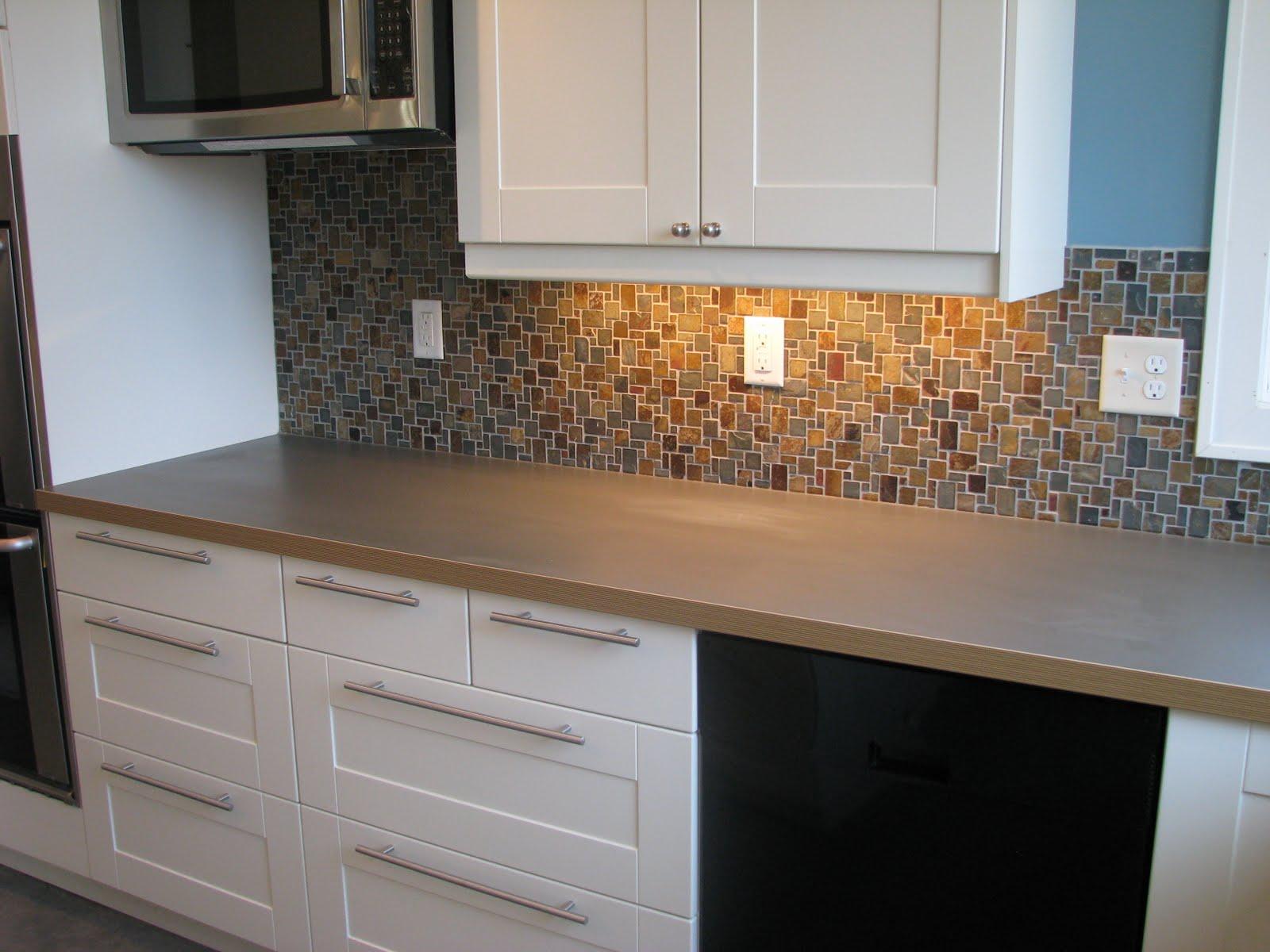 Slate look wallpaper wallpapersafari - Wallpaper that looks like tile for kitchen backsplash ...