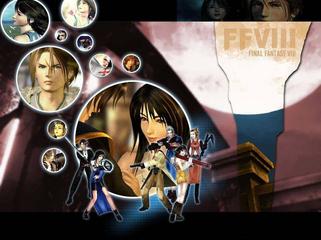 All Thing Final Fantasy 8 Wallpapersfinal fantasy viii 120004 1024x768