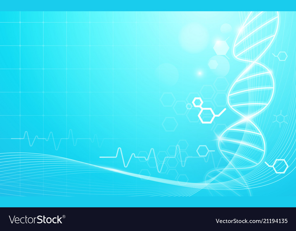 Dna and heart rate medicine and science background 1000x780