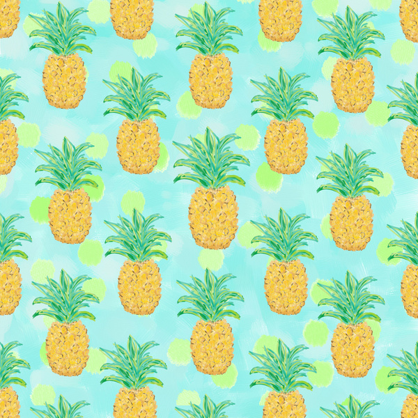 Pineapples Background Tumblr Pineapp Pineapple 600x600