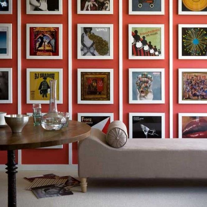 Big Paintings Bold Wallpaper Other Spot On Wall Dcor Tricks From 665x665