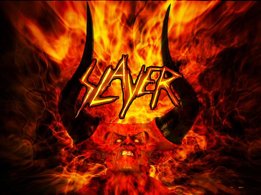 Slayer World Painted Blood Wallpaper HD wallpaper background 1024x768