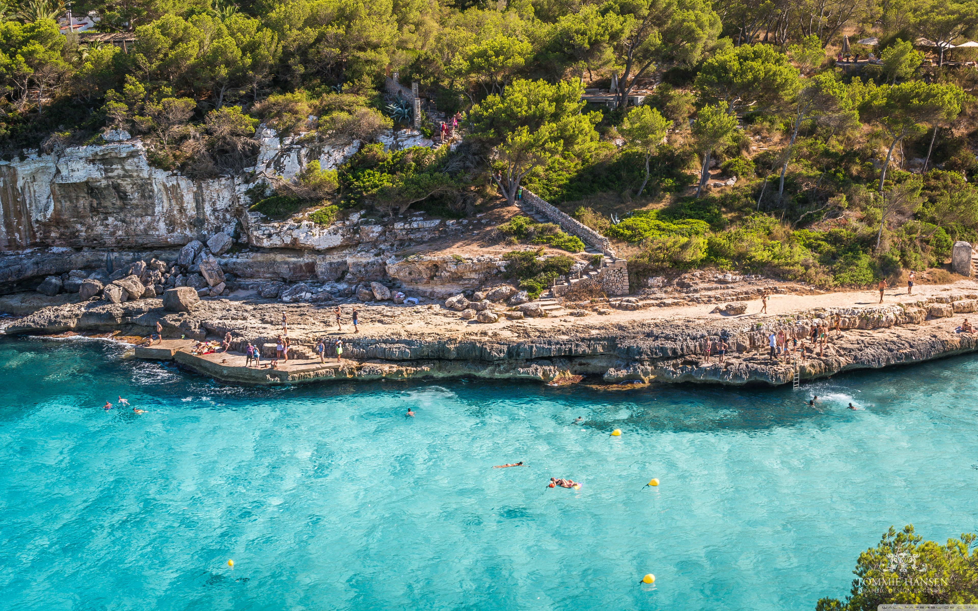 Cala Llombards Mallorca 4K HD Desktop Wallpaper for 4K Ultra 3840x2400