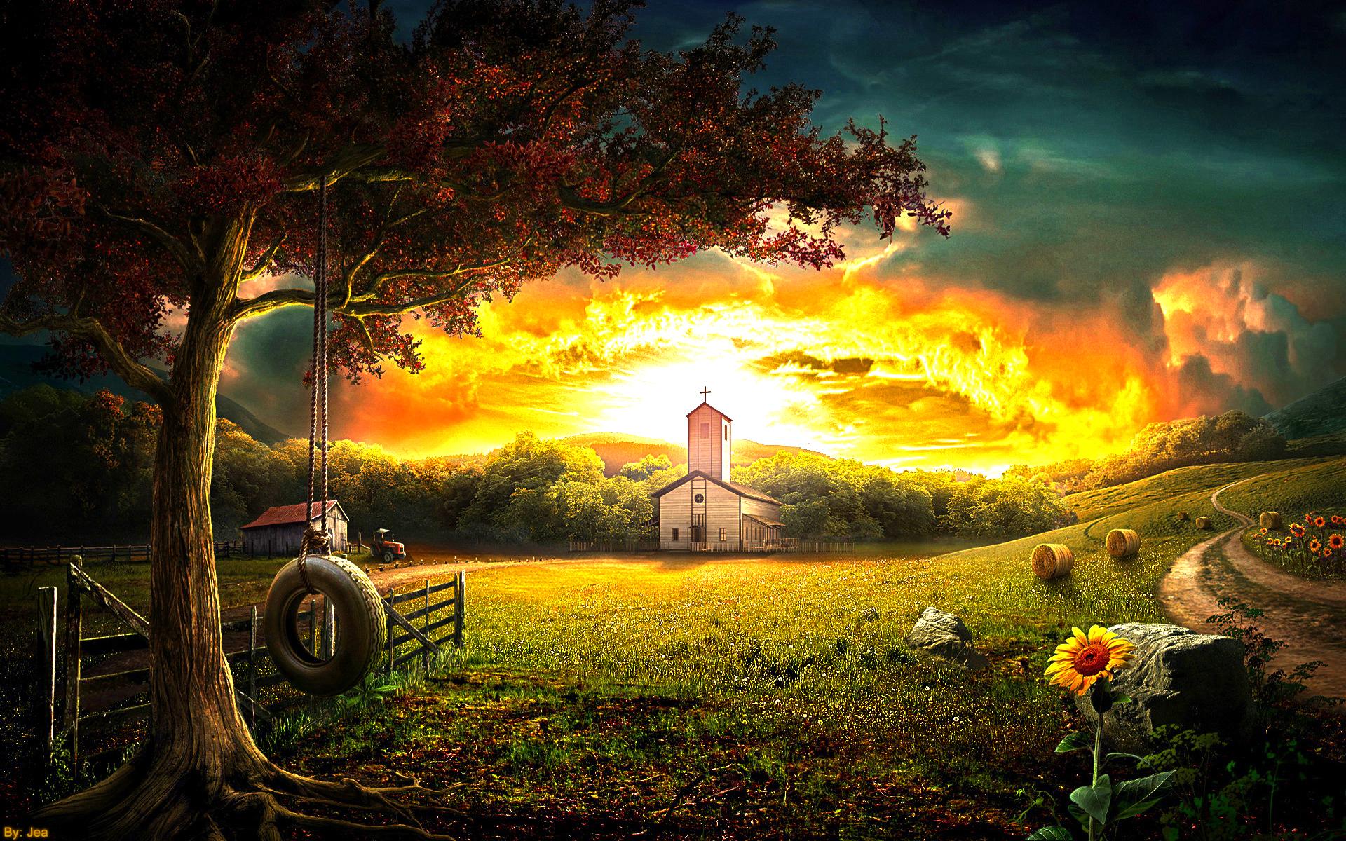 Farm HD by jeanpps 1920x1200
