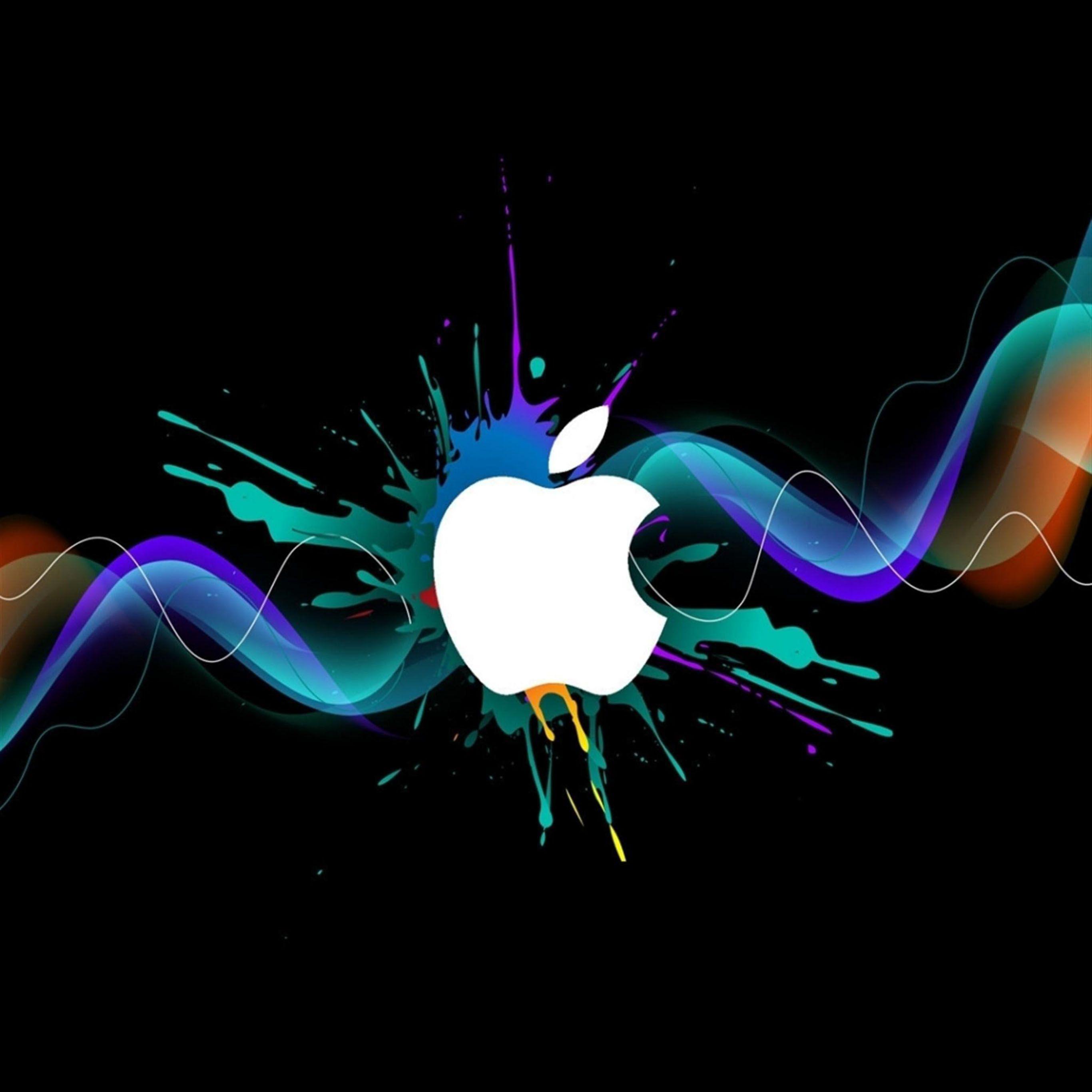 Apple iPad Pro Wallpaper 175 Apple logo wallpaper iphone Apple 2732x2732