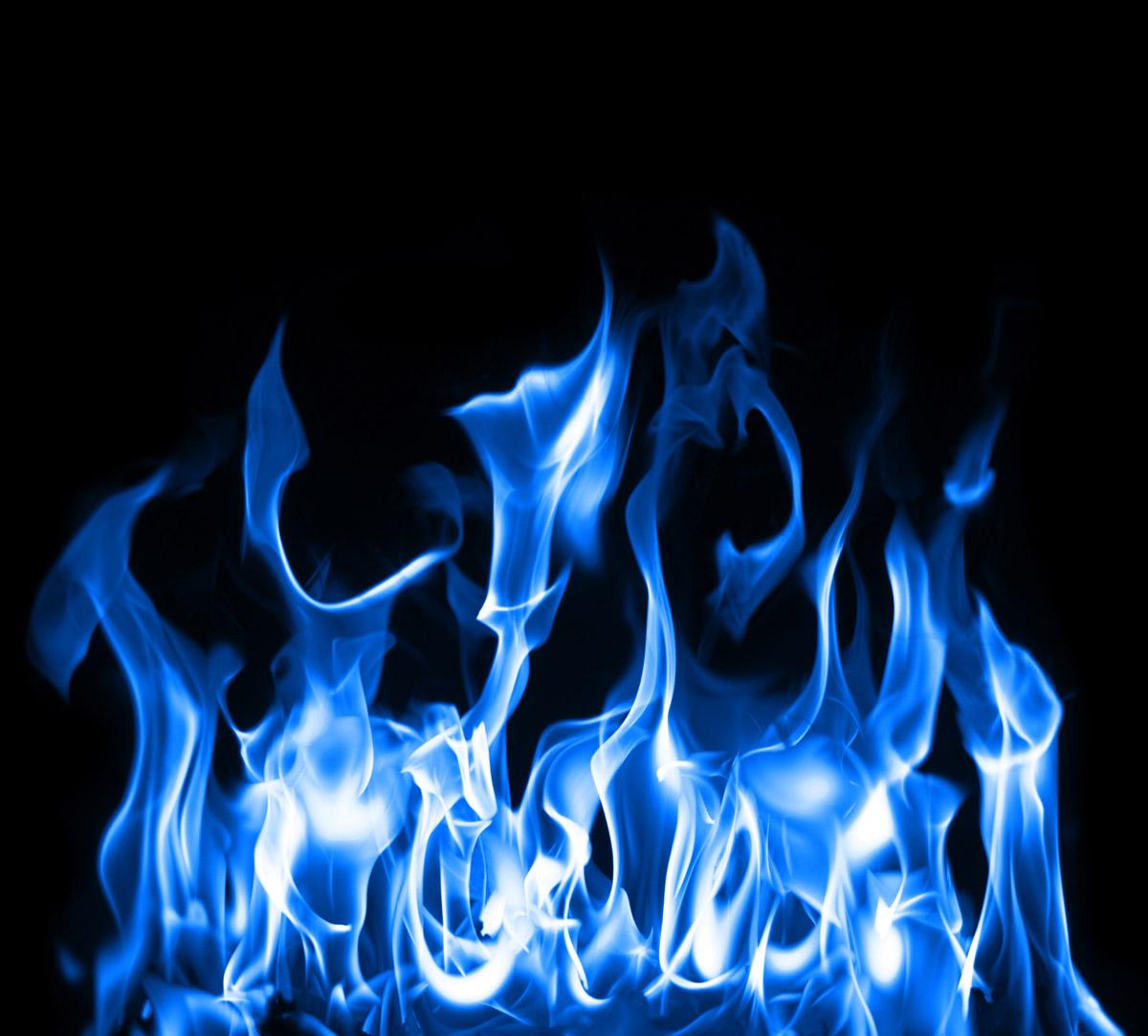 blue flame wallpaperjpg 1200x1083