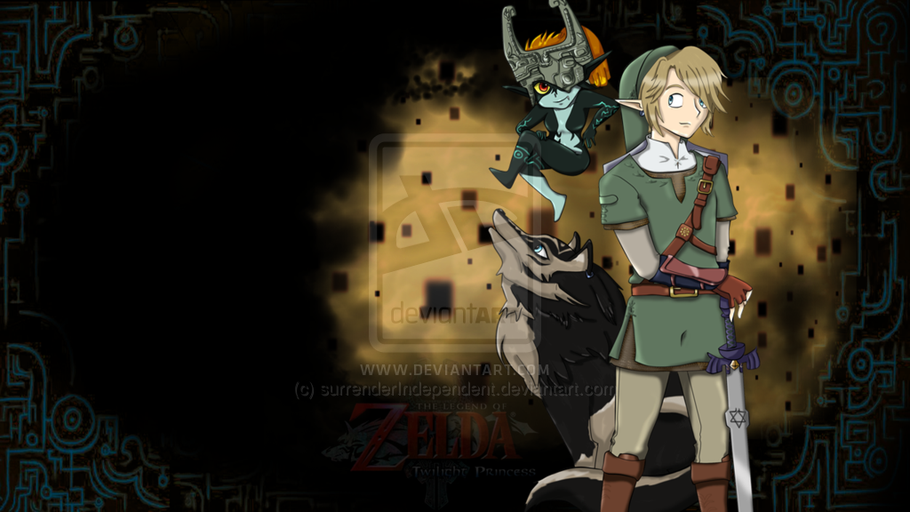 Twilight Princess wallpaper by kissingcyanide 1024x576
