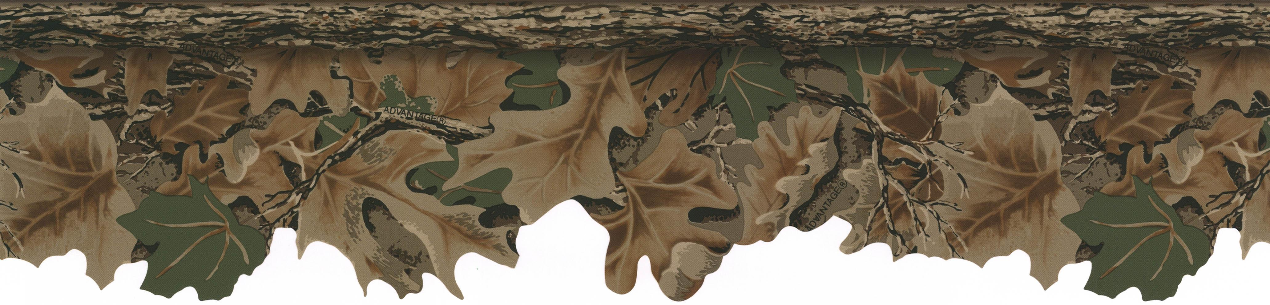 York Wallcovering Real Tree Camo Border Search Results 4125x992