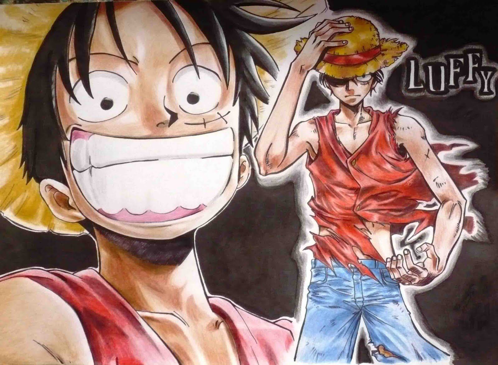 Free Download Wallpaper Luffy One Piece Wallpaper Photo Luffy One Piece Wallpaper 1600x1173 For Your Desktop Mobile Tablet Explore 76 One Piece Wallpaper Luffy One Piece Wallpapers One Piece