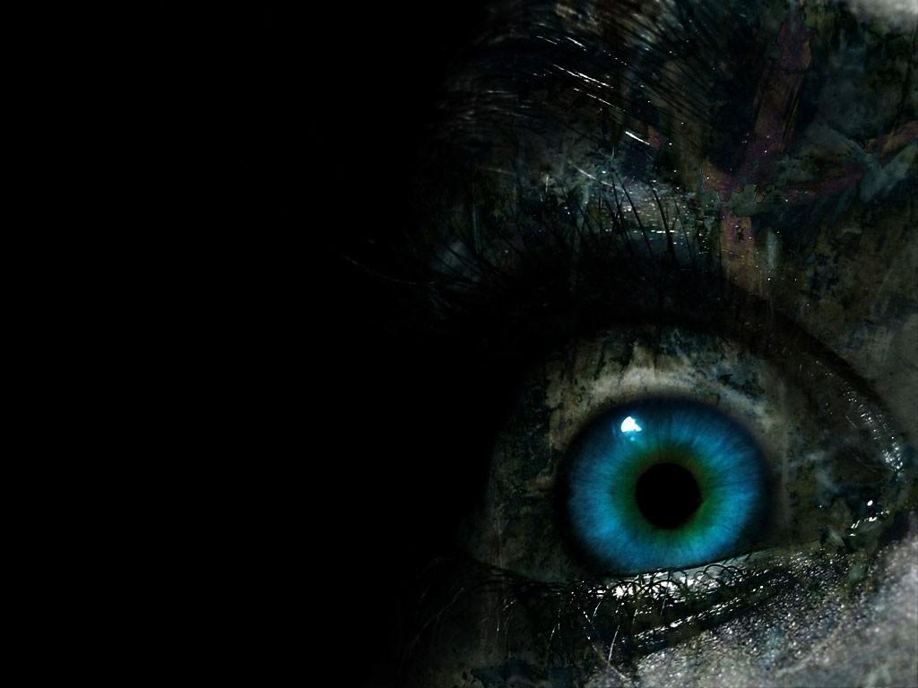 Dark Wallpapers Eye 1024x768