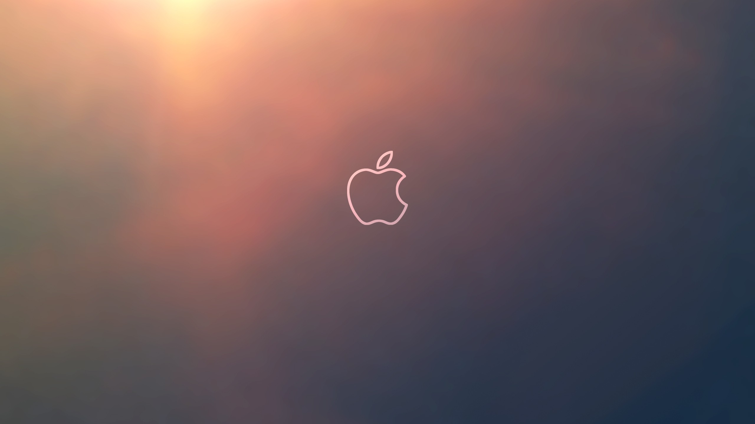 Apple logo outline computer hd wallpaper 2560x jpg 287781 2560x1440
