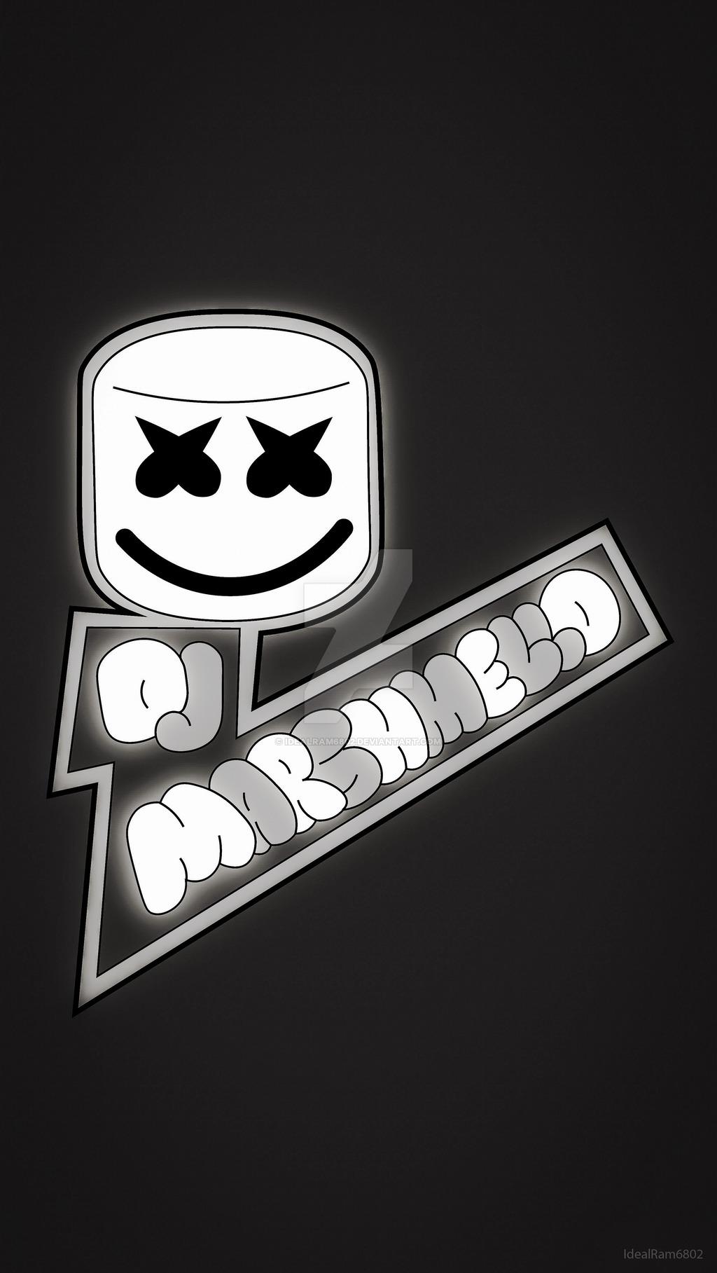 Dj Marshmello Phone Wallpaper By Idealram X