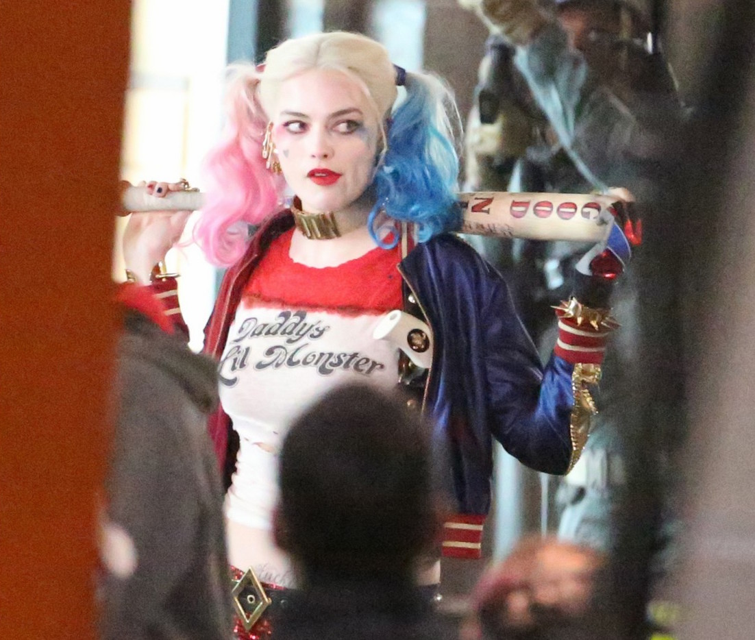 Harley Quinn Suicide Squad Margot Robbie 1102x934