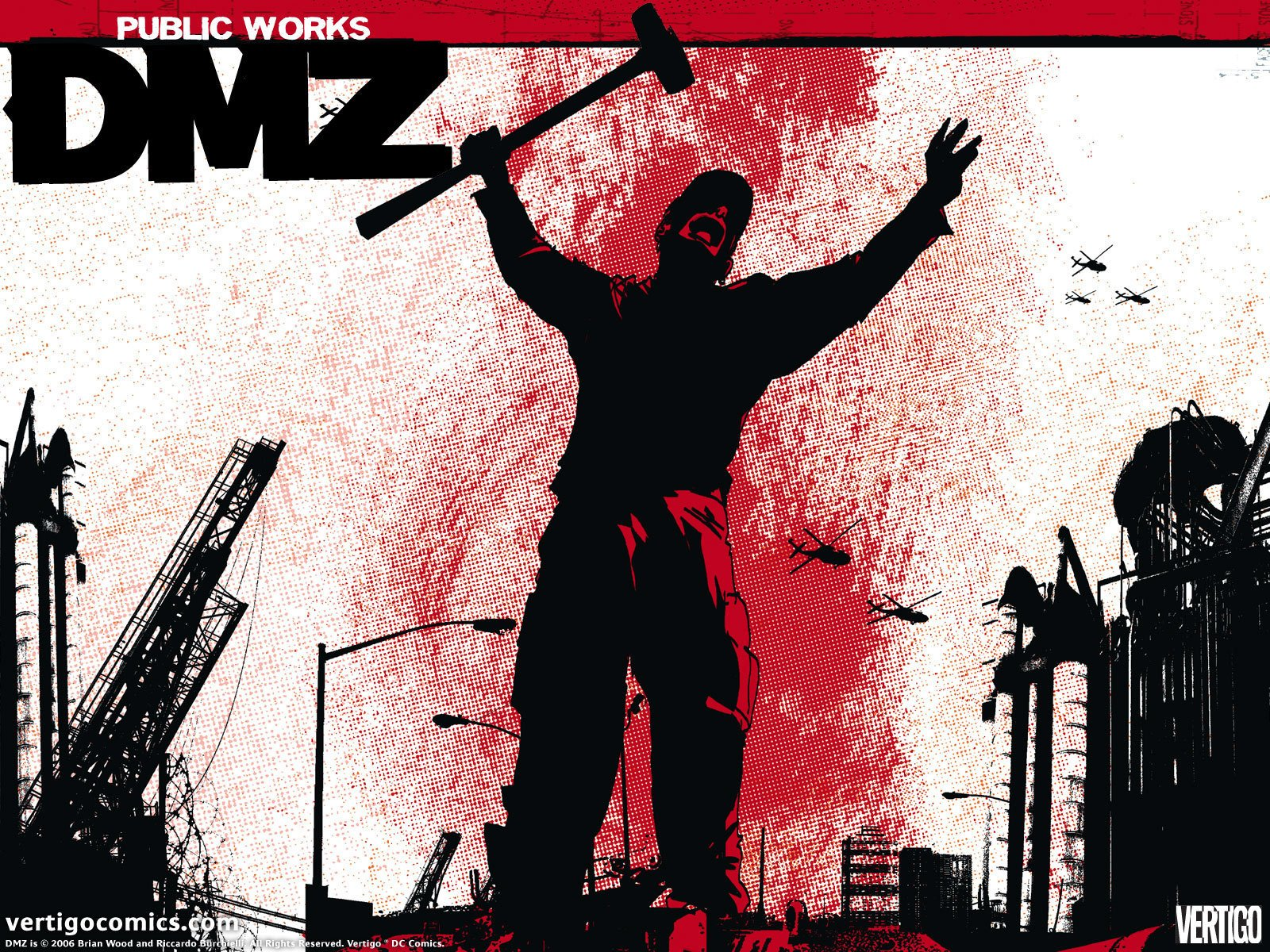 DMZ Official Vertigo Wallpapers   Vertigo Comics Wallpaper 1600x1200
