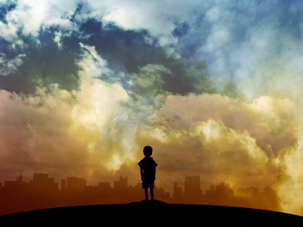 Alone Boy HD Wallpaper 1024x768