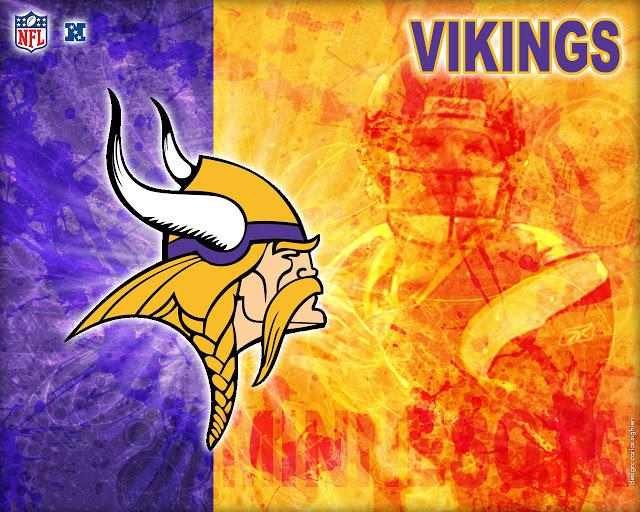 Minnesota Vikings NFC North iPhone iPod Touch Wallpaper 640x512