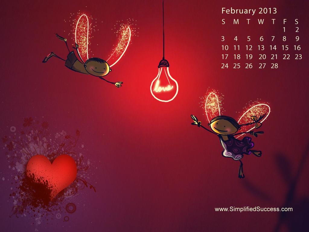 February 3rd 2013 Desktop Wallpaper Calendars February 2013 1024x768