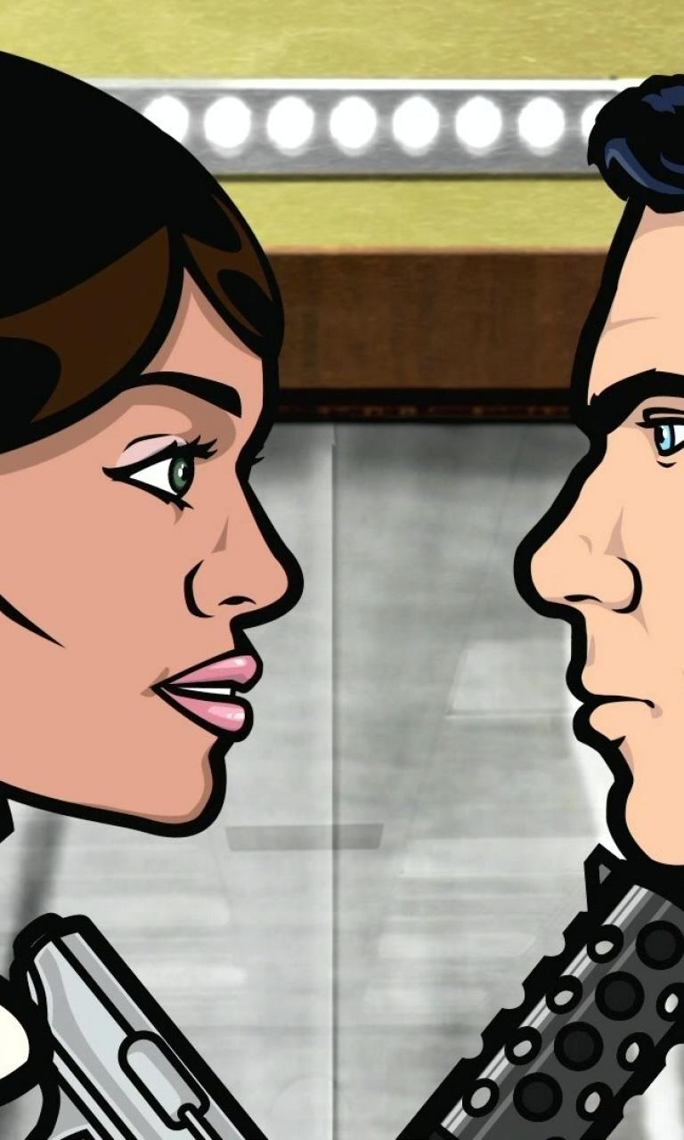 Archer tv lana kane wallpaper 64952 768x1280