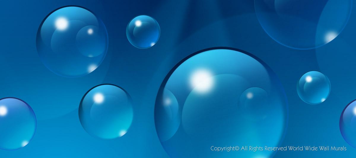 0003vcp   Sea Blue Bubbles World Wide Wall Murals 1200x533