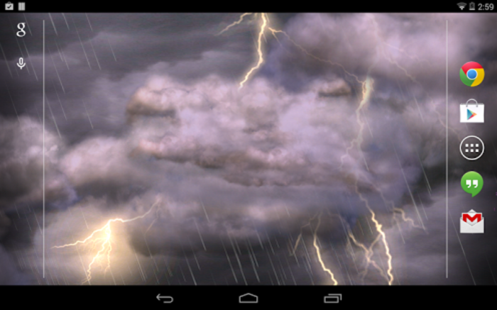 THUNDERSTORM FREE WALLPAPER   Developer screenshot 700x437