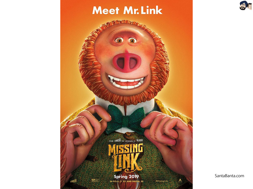 Missing Link Movie Wallpaper 1 1024x768