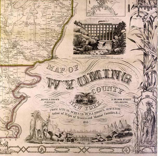 American Civil War Wallpaper Border Thumbnail image of 1853 map of 608x601