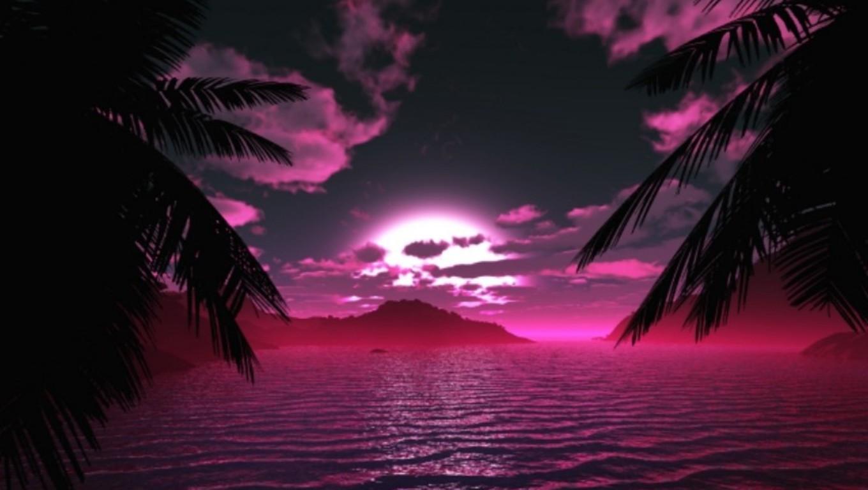 Midnight Cove Pink Wallpaper Jhbq 1360x768 pixel Popular HD 1360x768