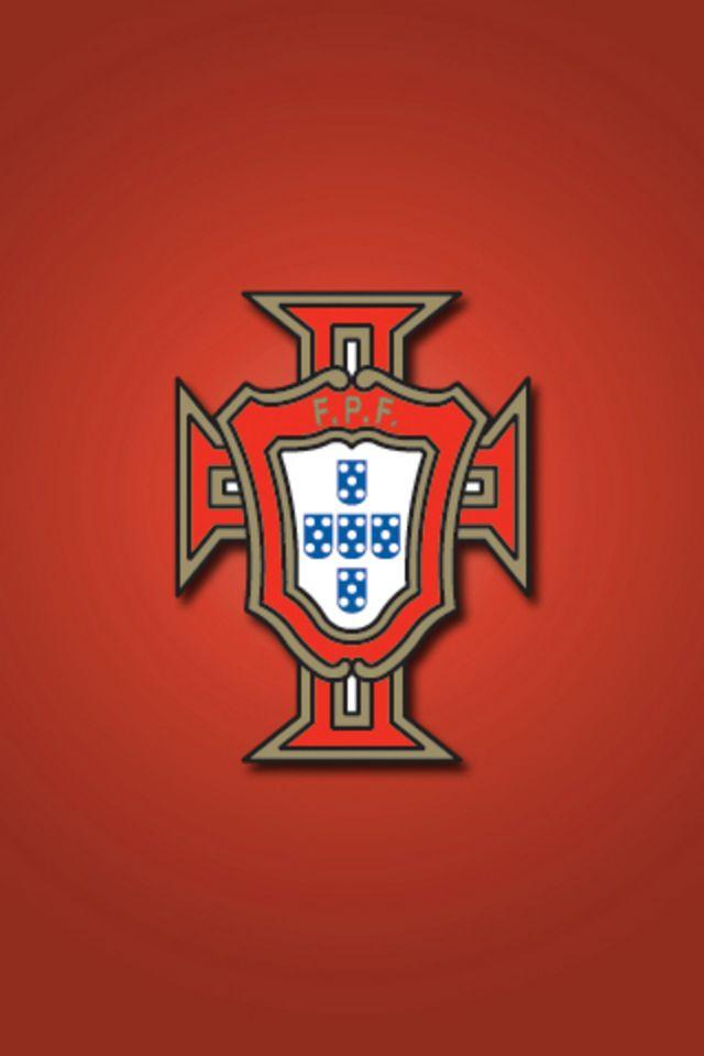 Portugal Soccer Team Logo Wallpaper wwwpixsharkcom 640x960