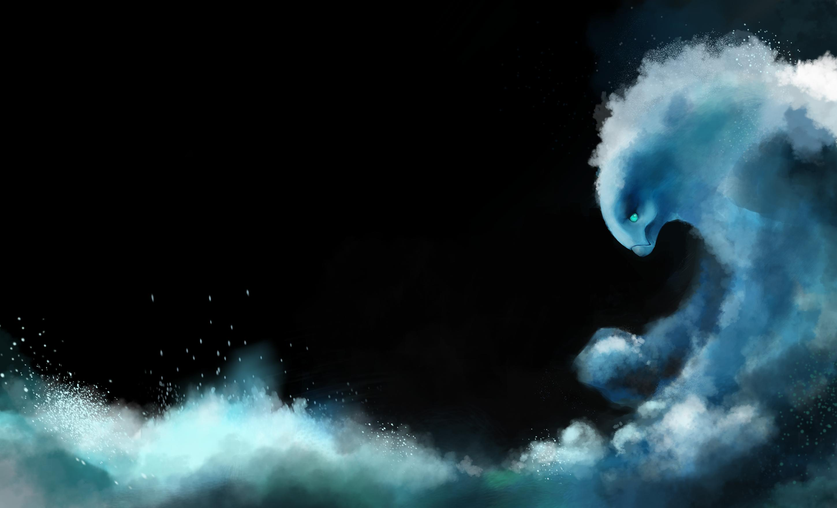 A Decent time Morphling painting 3hrs DotA2 2900x1761