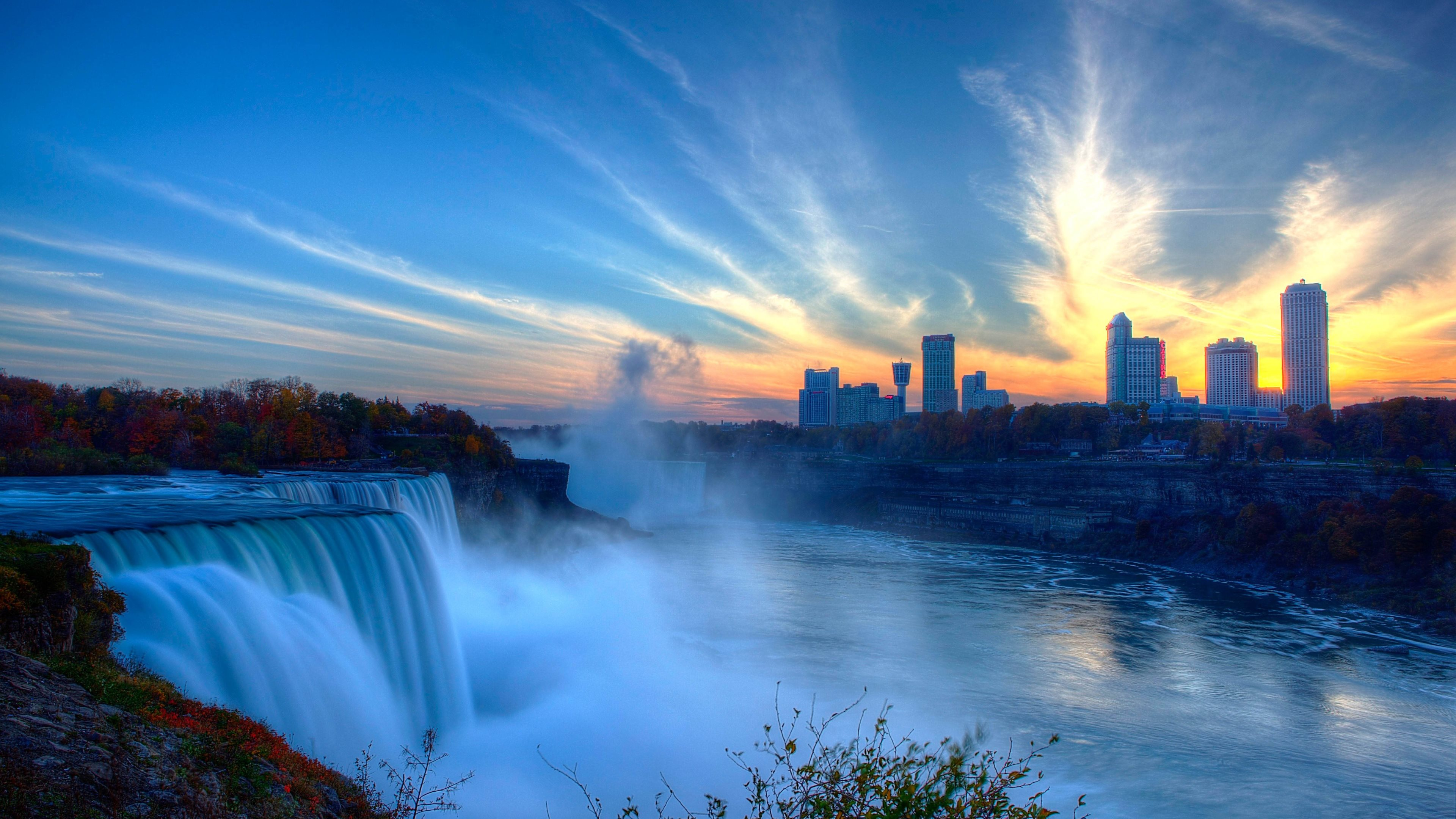 Niagara Falls Ultra HD wallpaper UHD WallpapersNet 3840x2160