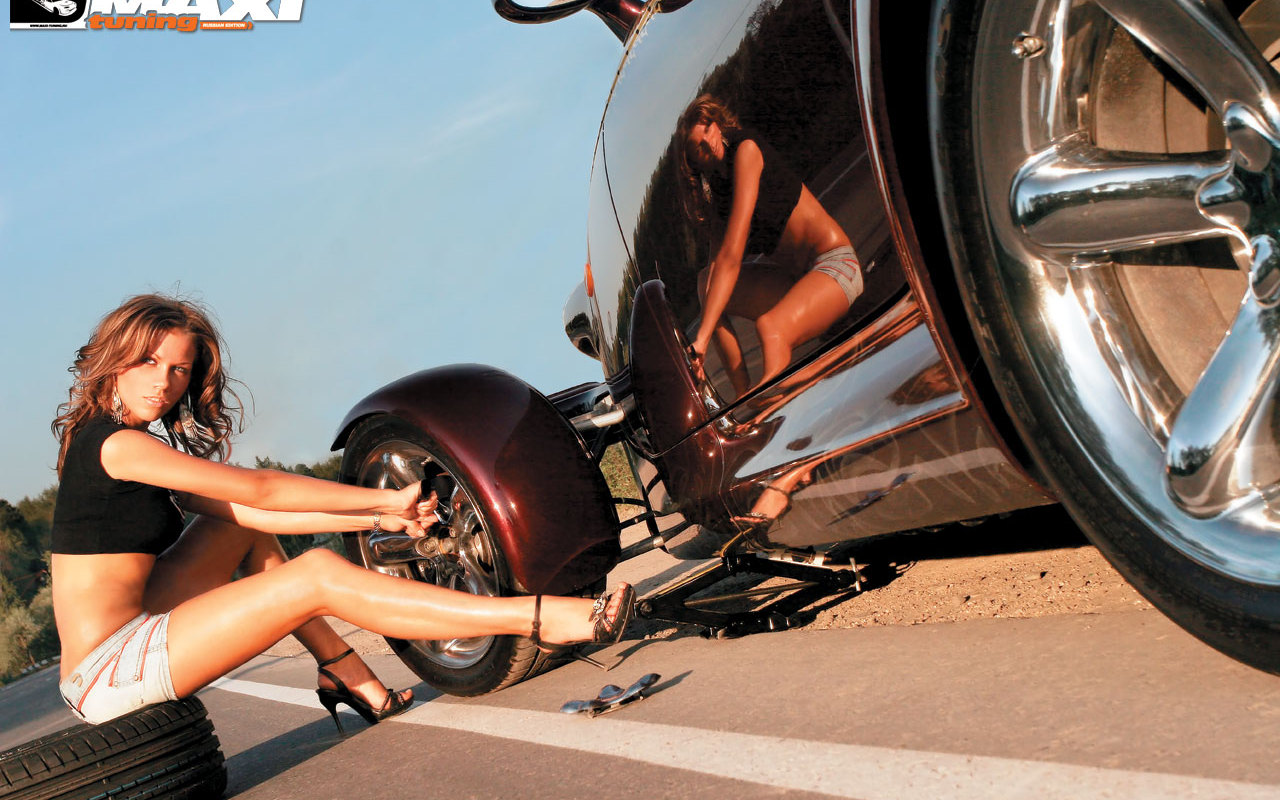 free download wallpapers car girl cars and girls online 1280x800