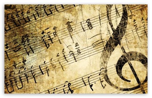 Vintage Music Sheets HD wallpaper for Standard 43 54 Fullscreen UXGA 510x330