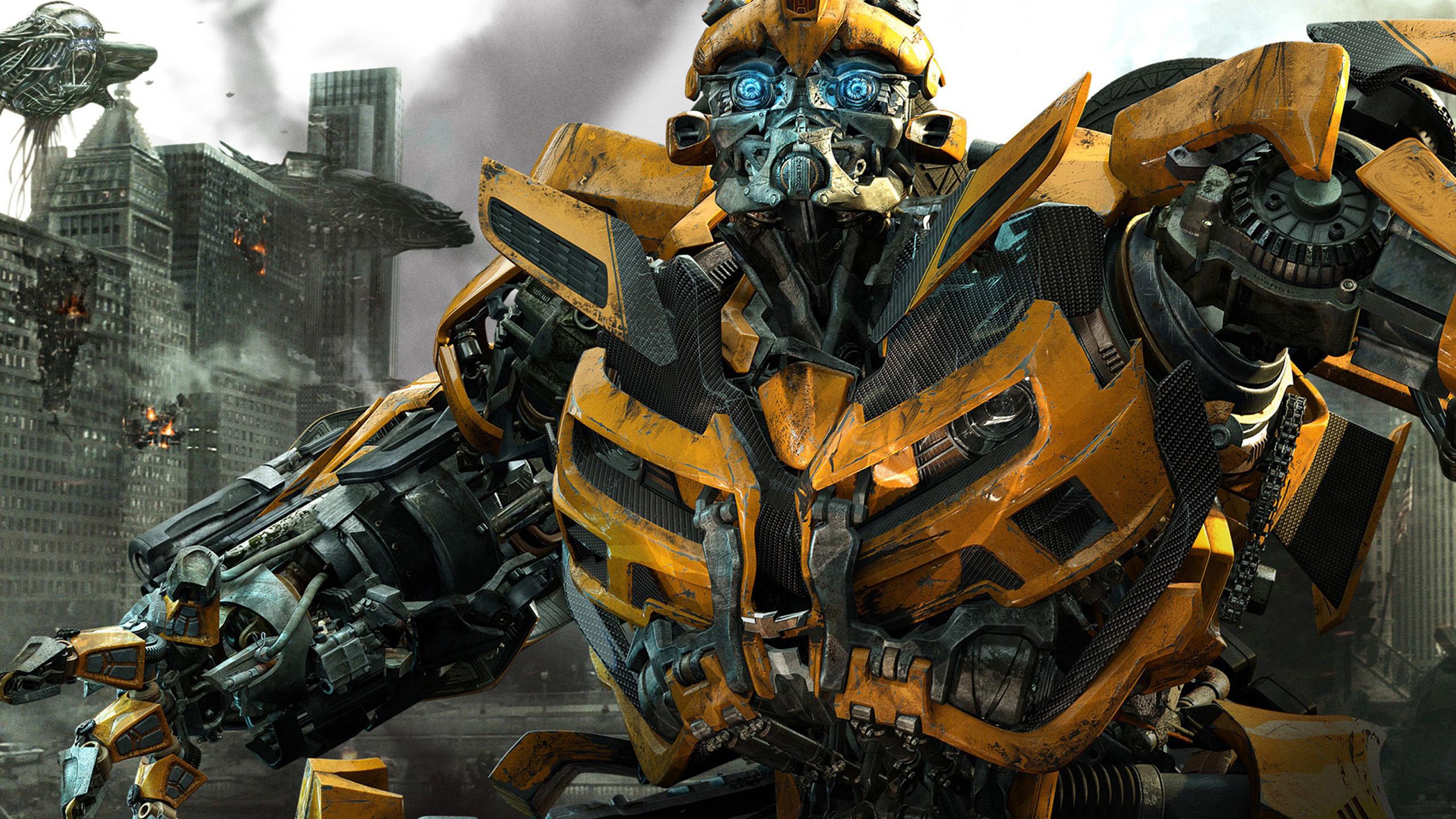 Pics Photos   Transformers Bumblebee Autobots Hd Wallpaper 2560x1440