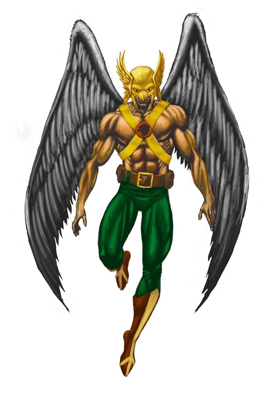 Hawkman digital painting by smittyd 900x1314