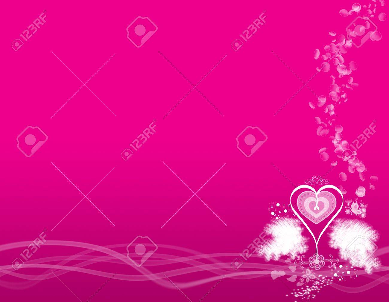 Abstract Computer Graphic Background Art Wallpaper Valentine Stock 1300x1011