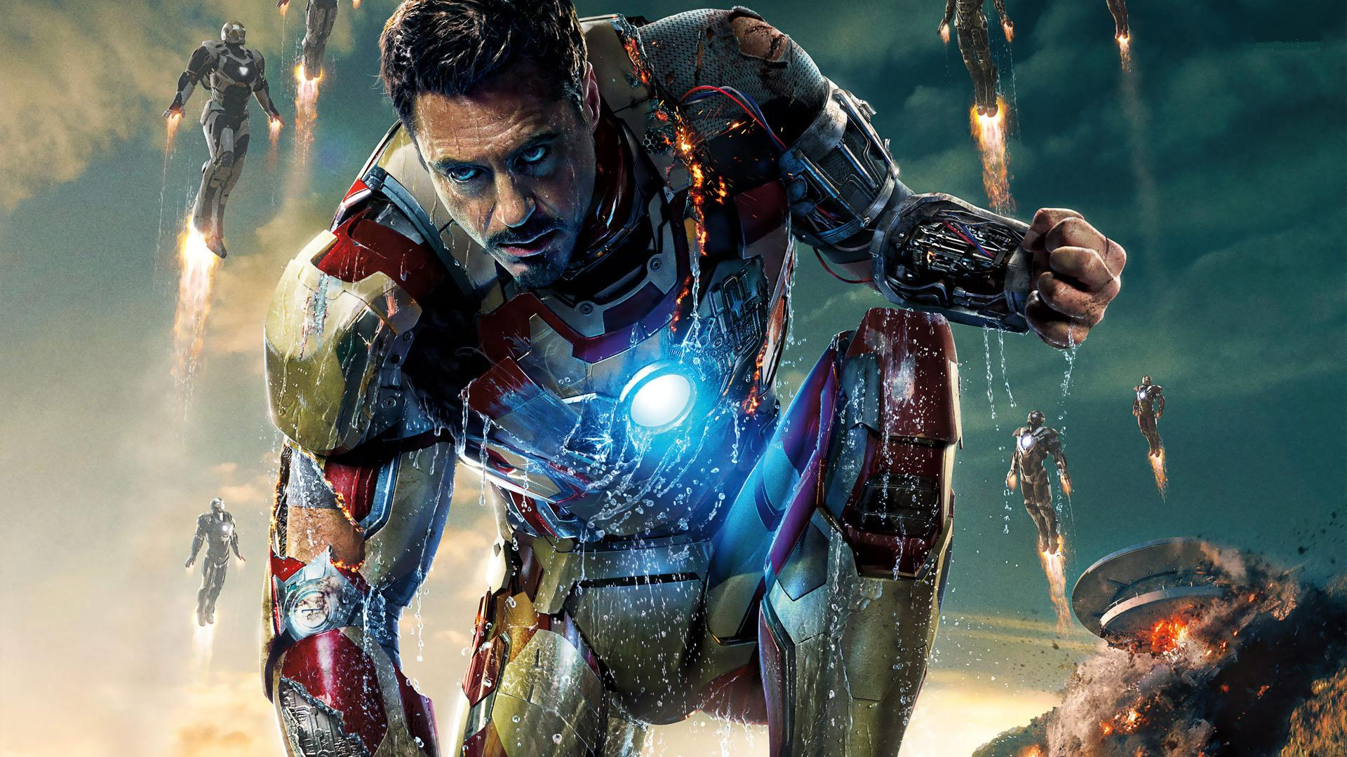 Iron Man HD Wallpapers 1080p - WallpaperSafari
