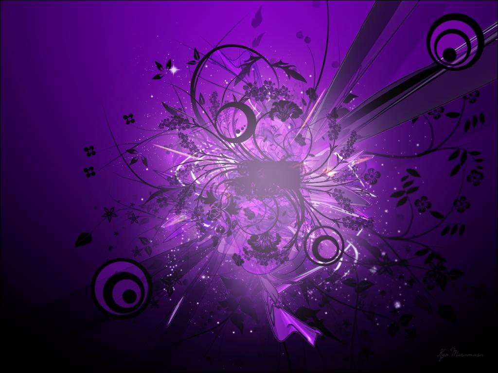 Banilung purple wallpaper designs 1024x768