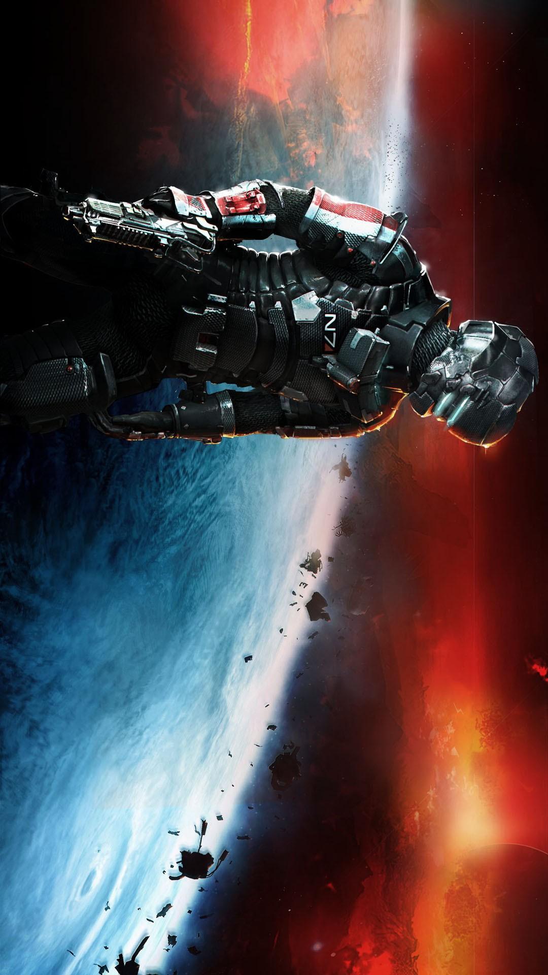50 Mass Effect Iphone 6 Wallpaper On Wallpapersafari