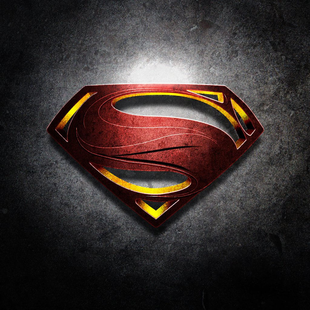 Superman   Man of Steel Wallpaper for Apple iPad Mini 1024x1024