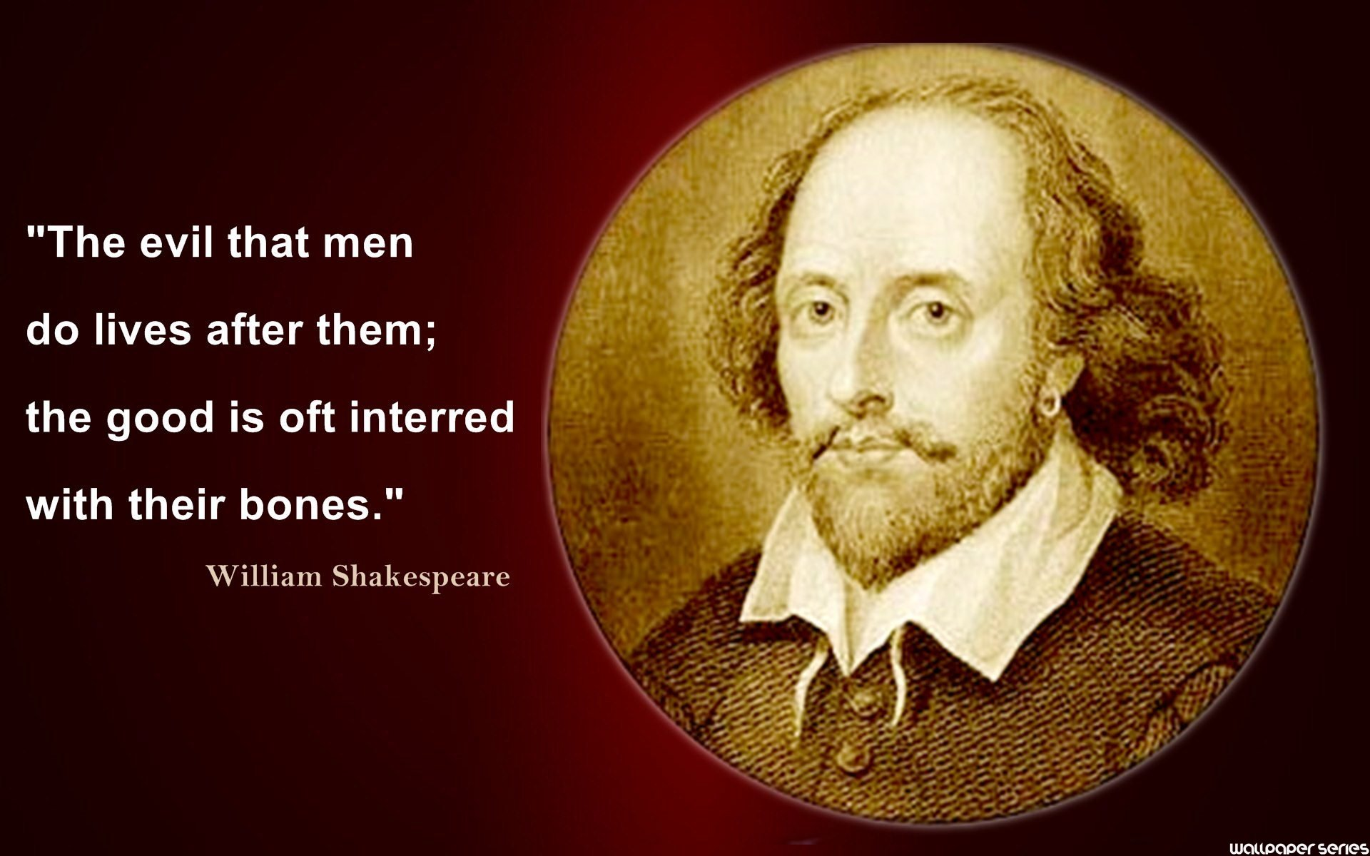 William Shakespeare Quotes Wallpapers HD Backgrounds Download 1920x1200