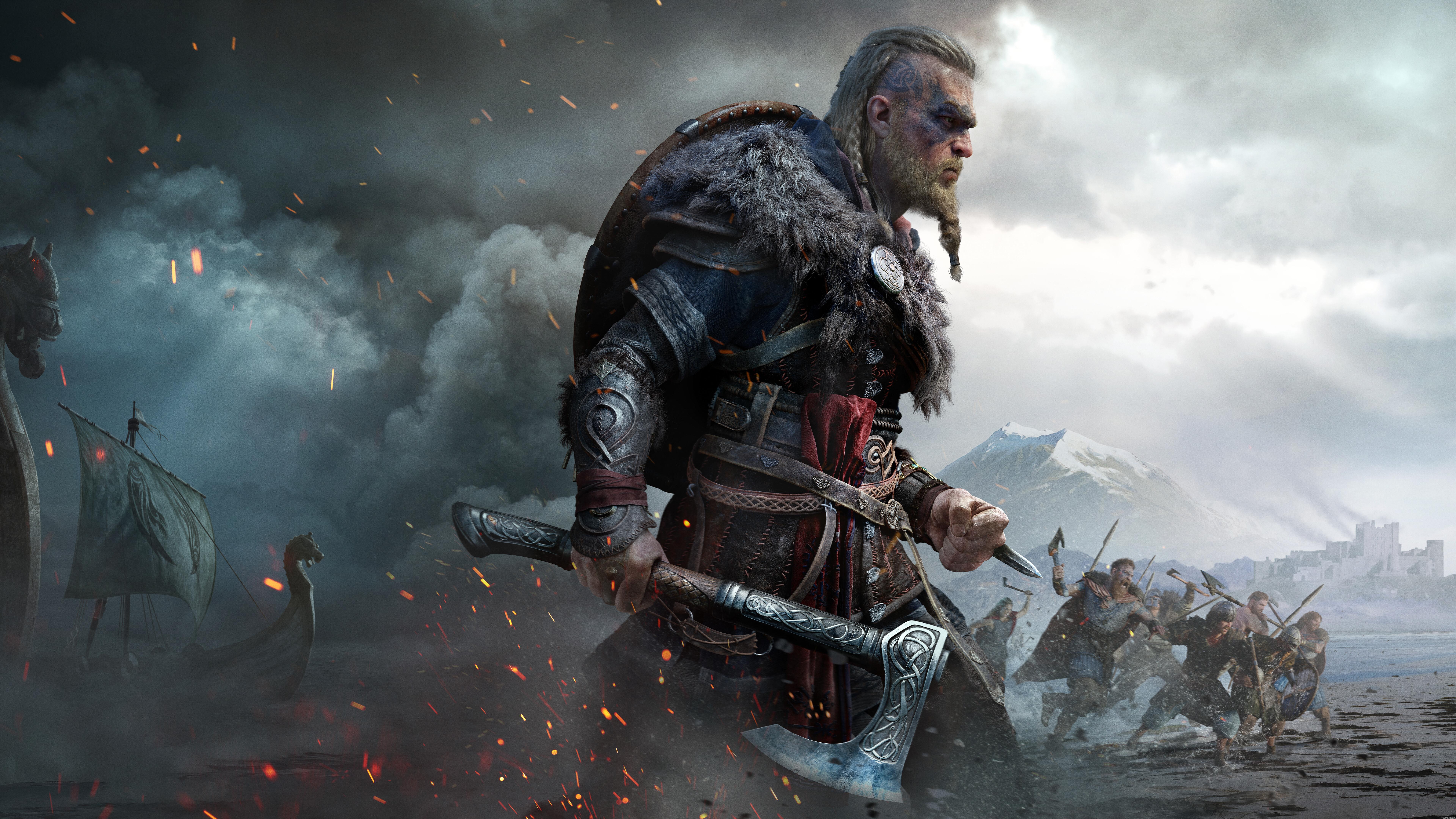 Eivor Assassins Creed Valhalla 8K Wallpaper 71979 7680x4320