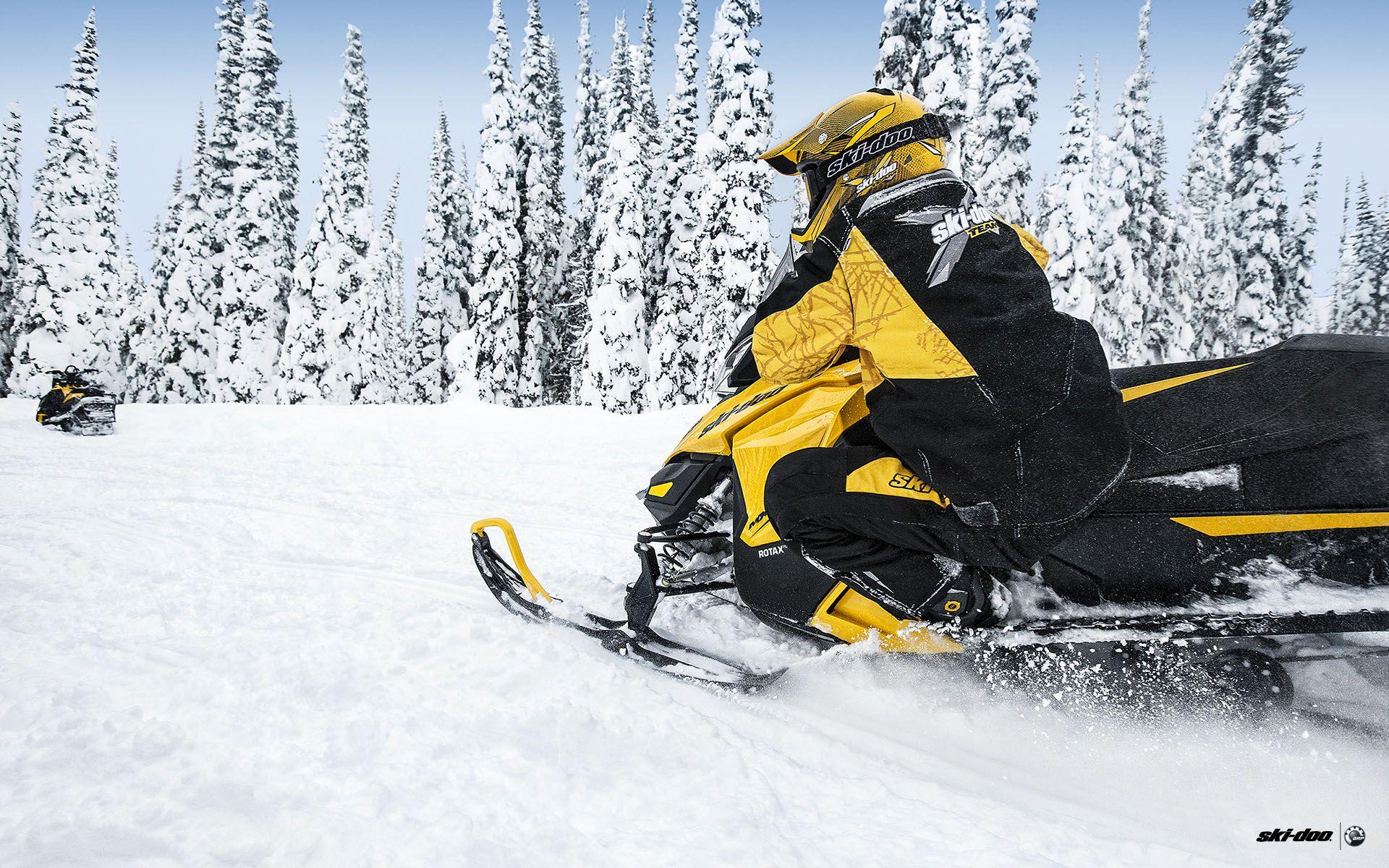 SKI DOO MXZ Turbo Sno Pro snowmobile winter ski doo e wallpaper 1920x1200