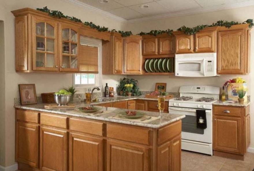 How to Get Best Kitchen Cabinet Wallpaper Kitchen Cabinets Idea 880x594