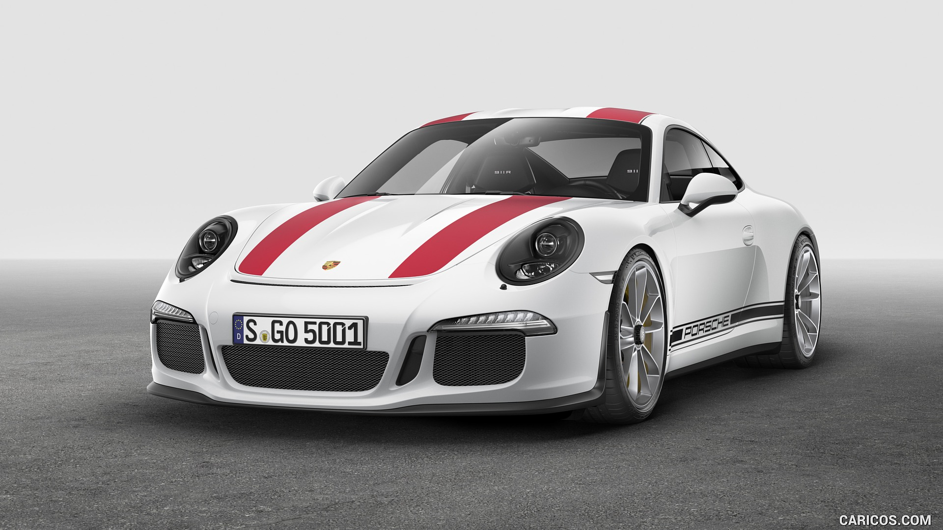 2017 Porsche 911 R   Front HD Wallpaper 9 1920x1080